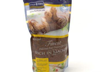 Fish4Cats Finest Mackerel сухой корм для кошек
