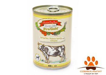 Frank's ProGold консервы для собак «Нежные кусочки говядины», Soft beef bits Dog Recipe