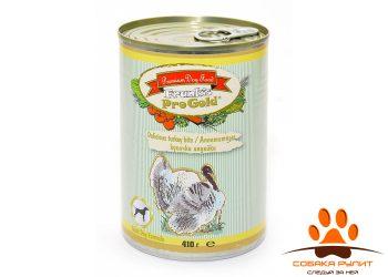Frank's ProGold консервы для собак «Аппетитные кусочки индейки», Delicious turkey bits Adult Dog Recipe