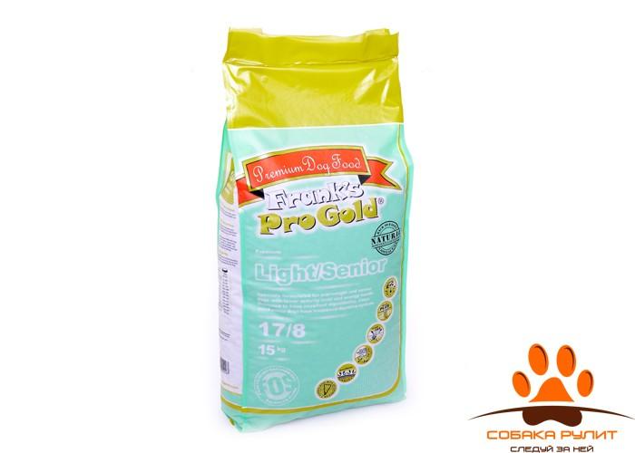 Корм Frank's ProGold для собак «Контроль веса» с индейкой и курицей, Light/Senior 17/8