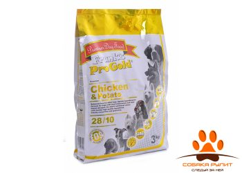 Корм Frank's ProGold беззерновой для собак с курицей и молодым картофелем, Chicken&Potato 28/10