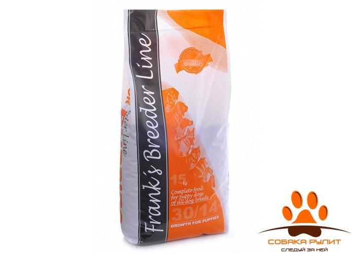 Корм Frank's ProGold breeder Line «Формула роста для щенков», Growth for Puppies 30/14