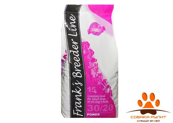 Корм Frank's ProGold breeder Line для энергичных собак, Power 30/20