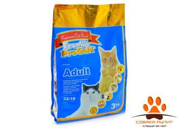 Корм Frank's ProGold для взрослых кошек с курицей, Adult 32/18