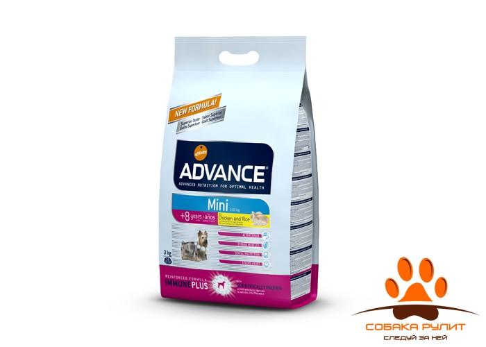 Advance Для собак малых пород старше 8 лет (Mini Senior)