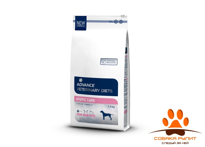 Advance Корм для собак при дерматозах и аллергии (Atopic)