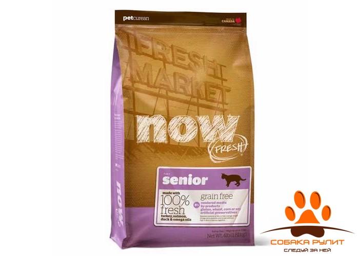 Корм NOW Natural holistic беззерновой для кошек «Контроль веса» с индейкой, уткой и овощами