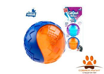 GiGwi Два мяча с пищалкой