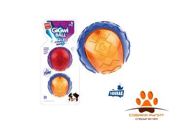 gigwi Два средних мяча с пищалкой