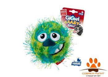 gigwi Мяч с пищалкой зеленый