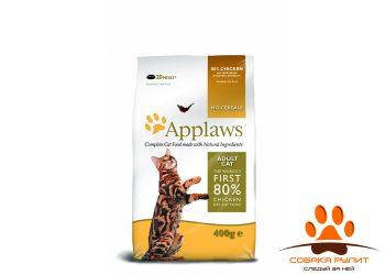 Applaws Беззерновой корм для Кошек «Курица/Овощи: 80/20%» (Dry Cat  Chicken)