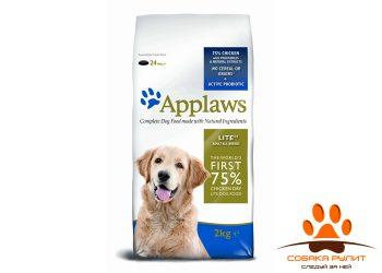 Applaws Беззерновой для Собак — контроль веса «Курица/Овощи: 75/25%» (Dry Dog Chicken Light)