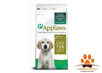 Applaws Беззерновой для Щенков малых и средних пород «Курица/овощи: 75/25%» (Dry Dog Chicken Small & Medium Breed Puppy)