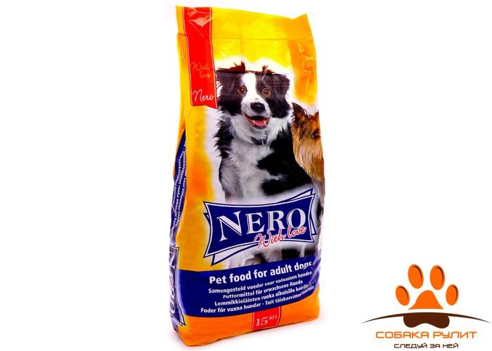 Nero Gold Для Собак: Мясной коктейль (Nero Croc Economy with Love)
