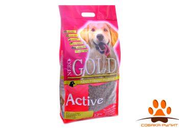 NERO GOLD Для Активных собак: Курица и рис (Adult Active) 12кг