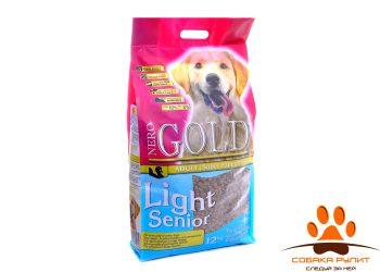 Nero Gold Для Пожилых собак:  индейка рис (Senior/Light)