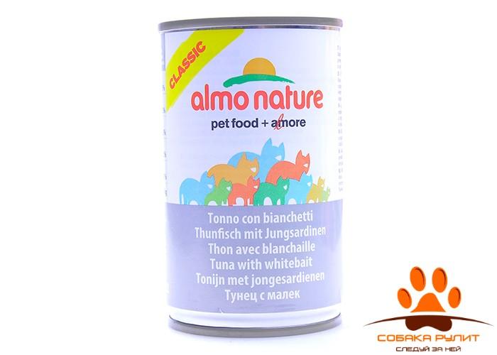 Almo Nature Classic консервы для кошек (в ассортименте)