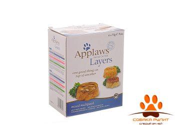 Applaws Набор для кошек «Лакомые кусочки в желе: Ассорти» 6х70г