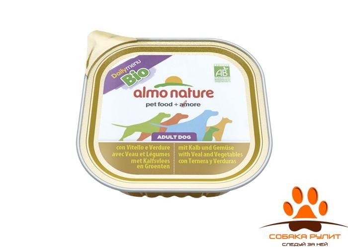 Almo Nature Daily Menu Bio Консервы для собак (в ассортименте)
