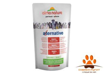Almo Nature Alternative Корм со свежим ягненком и рисом (50 % мяса) для собак карликовых и мелких пород