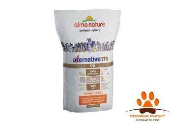 Almo Nature Alternative Корм со свежим цыпленком и рисом (75 % мяса) для собак средних и крупных пород