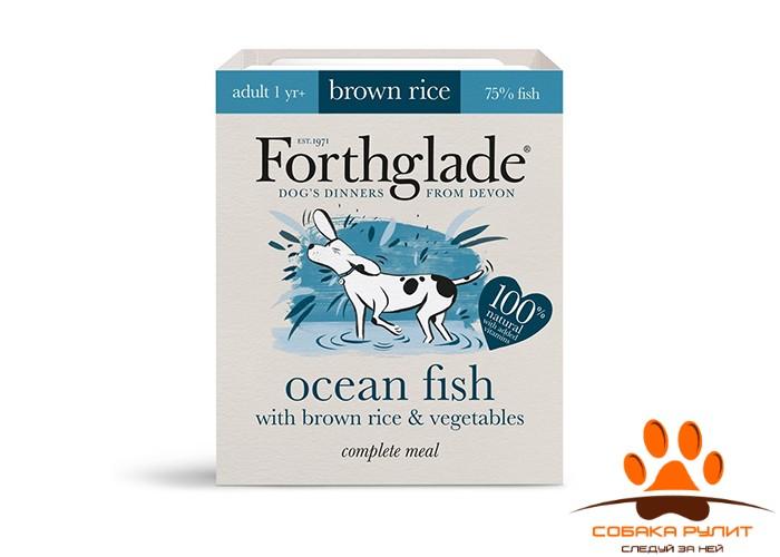 Forthglade Complete Menu Ocean Fish with Brown rice & Vegetables 395гр (для собак из мяса океанической рыбы, коричневого риса и овощей)
