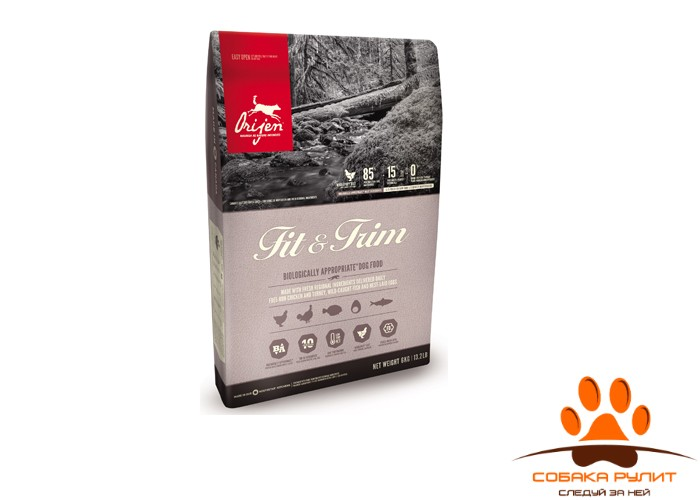 Orijen FIT & TRIM корм для собак