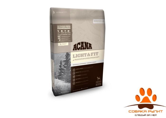 Acana Heritage LIGHT & FIT для собак