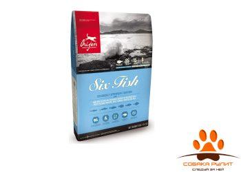 Orijen SIX FISH корм для собак