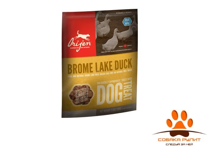Лакомство для собак Orijen BROME LAKE DUCK лакомства для собак