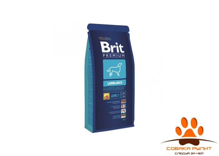 BRIT Premium «Lamb&Rice»