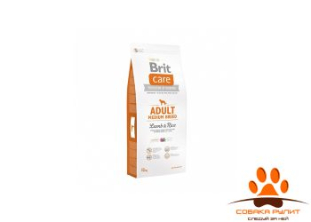 Brit Care «Adult Medium Breed Lamb & Rice»