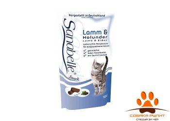CAT STICKS с ягнёнком и бузиной