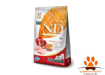 Farmina N&D Low Grain Dog Chicken & Pomegranate Puppy