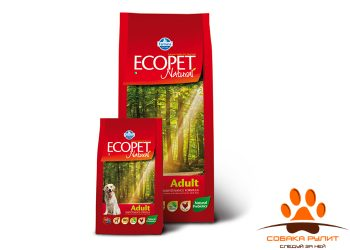 Farmina Ecopet Dog Natural Adult Maxi 12 кг