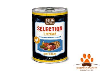 Solid Natura Selection Курица влажный корм для собак