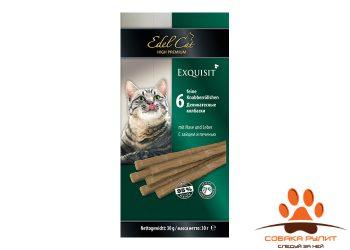 EDEL CAT Лакомства — Деликатесные колбаски/ Заяц и печень