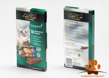 EDEL CAT Лакомства — Деликатесные колбаски/ Мультипак