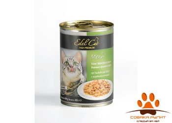 EDEL CAT Кусочки в соусе/ Индейка и печень 400гр