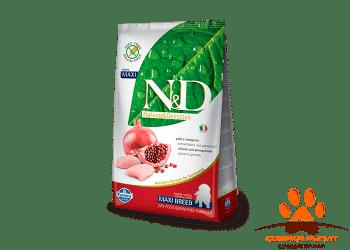 Farmina N&D Dog Chicken & Pomegranate Puppy Maxi
