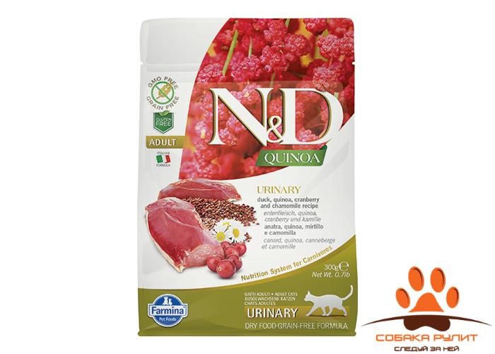 Farmina N&D Cat Quinoa Urinary Duck