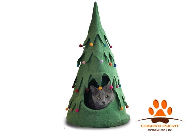 Домик DharmaDog KarmaCat «Рождественская ёлка»