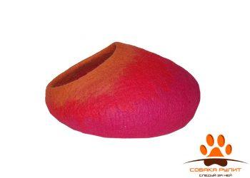 Домик DharmaDog KarmaCat «Омбре» (пурпурный)