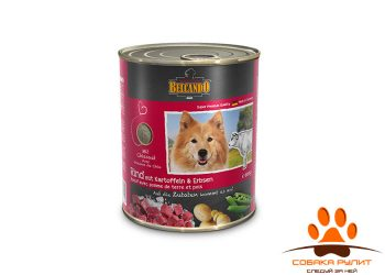 Belcando консервы для собак с говядиной 800г