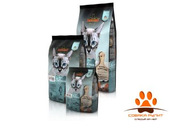 Leonardo Adult Salmon GF / Сухой беззерновой корм для кошек Леонардо эдалт на рыбе