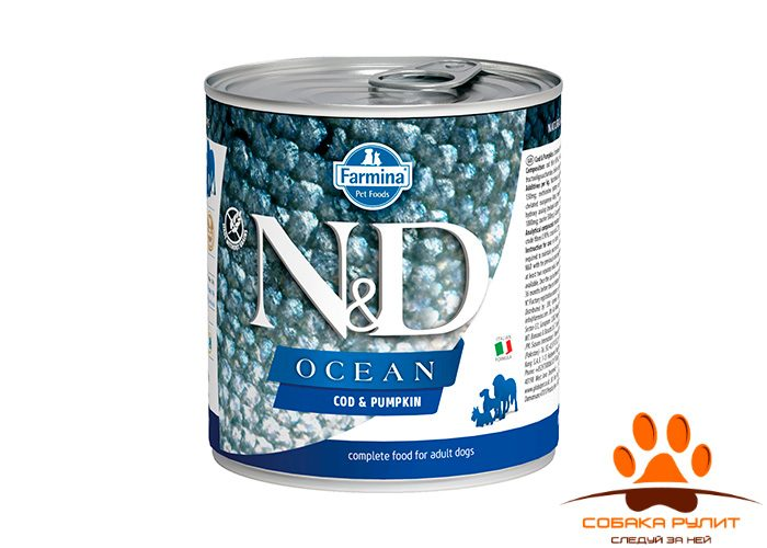 Farmina N&D Ocean Dog Wet Cod & Pumpkin