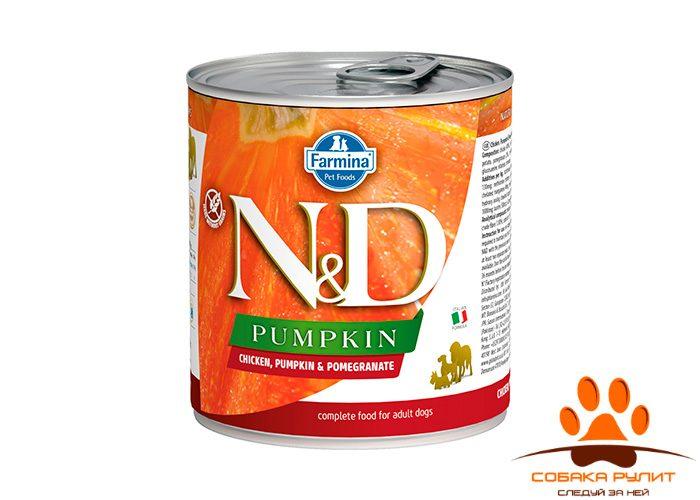 Farmina N&D Dog Pumpkin Wet Chicken & Pomegranate