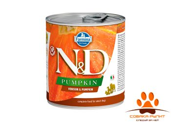 Farmina N&D Dog Pumpkin Wet Venison