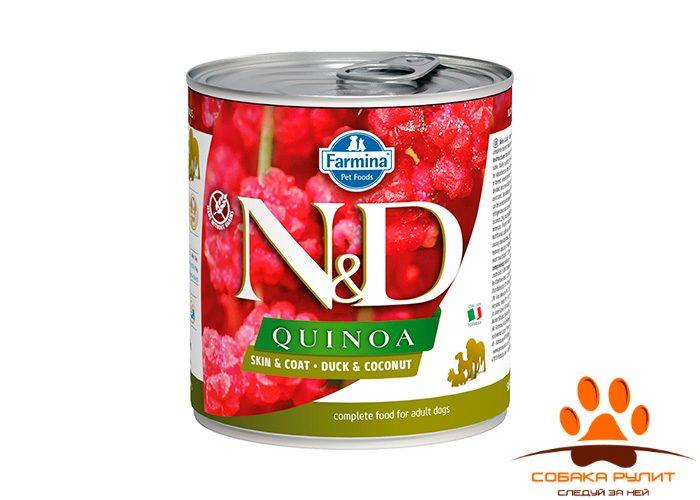 Farmina N&D Dog Quinoa Wet Duck & Coconut