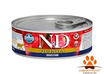 Farmina N&D Cat Quinoa Wet Digestion 80г